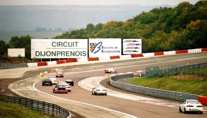 Circuit automobile de Dijon-Prenois