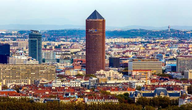 Week-end avec vue panoramique à Lyon (avec 1 repas offert)