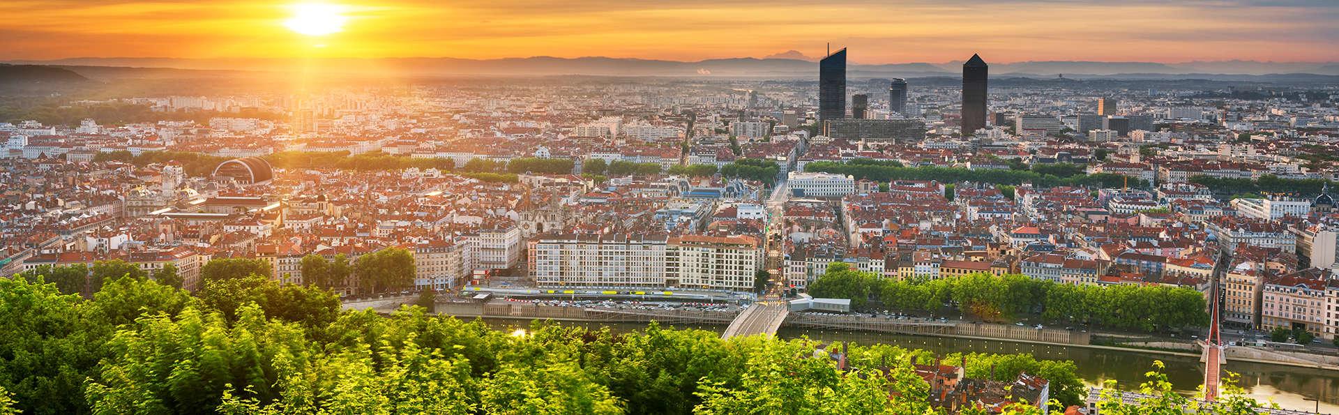 Escapade et vue panoramique à Lyon
