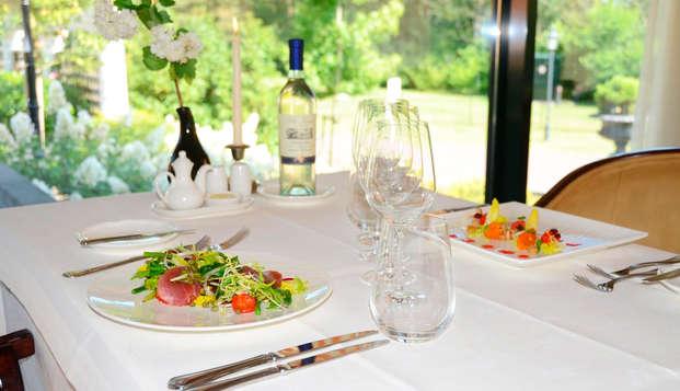 Heerlijk dineren omgeven door de Drentse natuur (vanaf 2 nachten)