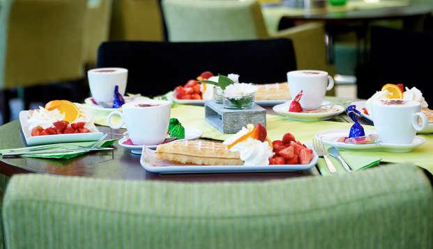 Week-end avec dîner à Reusel (à partir de 2 nuits)