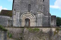 Église Saint-Martin de Louzac -
