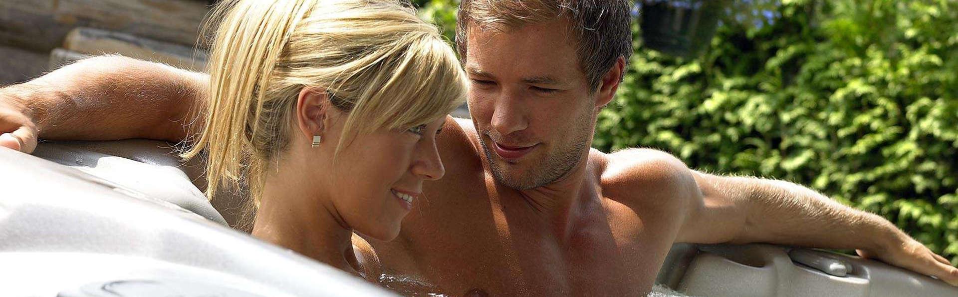 Luxueux weekend détente romantique avec cava et massage
