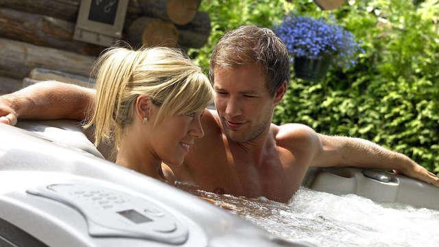 Luxe romantisch wellnessweekend met bubbels en massage