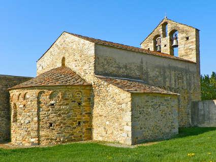 Église Saint-Romain de Caldegas