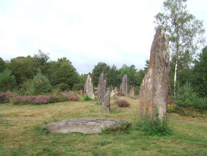 Domaine mégalithique des Pierres droites