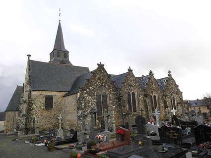Église Saint-Léon de La Baussaine