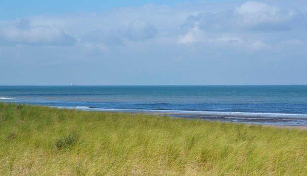 Deleita tu paladar a dos pasos del mar en Kijkduin (desde 2 noches)
