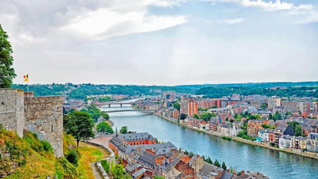 Évasion culturelle à Namur avec visite incluse
