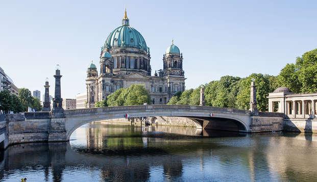 Bewonder prachtig Berlijn op je gemakje vanaf het water
