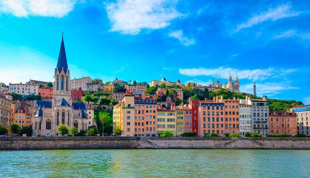 Détente et visite de Lyon en bus touristique