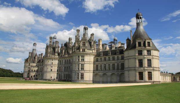 Profitez d'un chalet en pleine nature et d'une visite du Château de Chambord (à partir de 2 nuits)