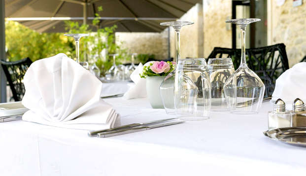 Escapada relax con cena gastronómica en un castillo de Dordoña, cerca de Sarlat