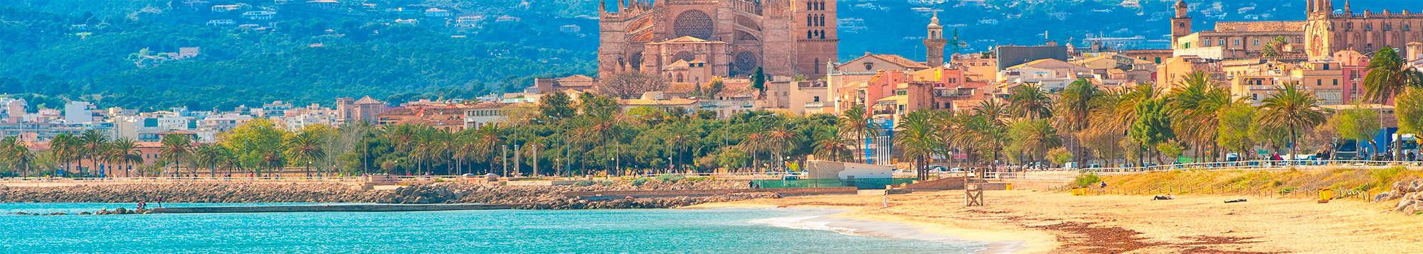 Escapadas fin de semana Destino costa en Palma de Mallorca