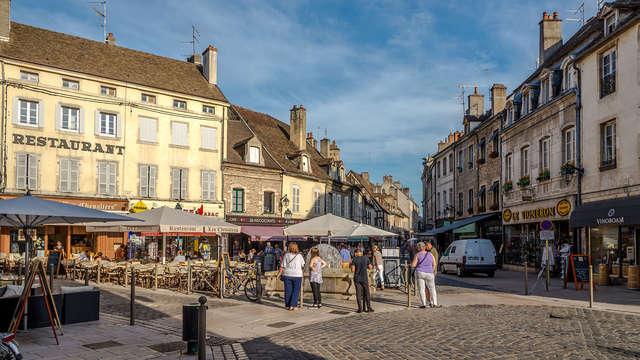 Halte sur la route des vins de Bourgogne à Beaune
