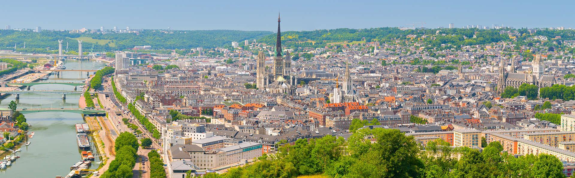 Week-end à deux proche de Rouen