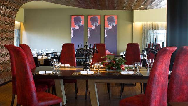 Escapada con acceso al Spa, copa de bienvenida y media pensión en un elegante hotel cerca de Oporto