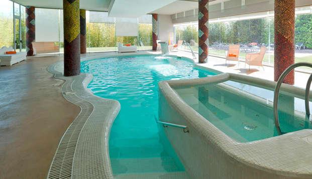Escapada relax con detalles románticos y desayuno en la habitación en un hotel con Spa en Penafiel