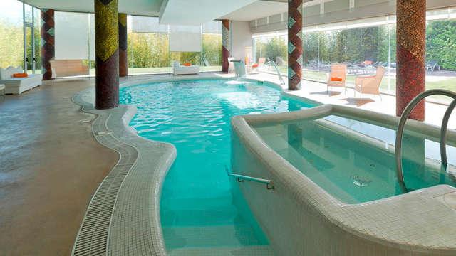 Ontspannen uitje met romantische details en ontbijt op de kamer in een hotel met spa in Penafiel