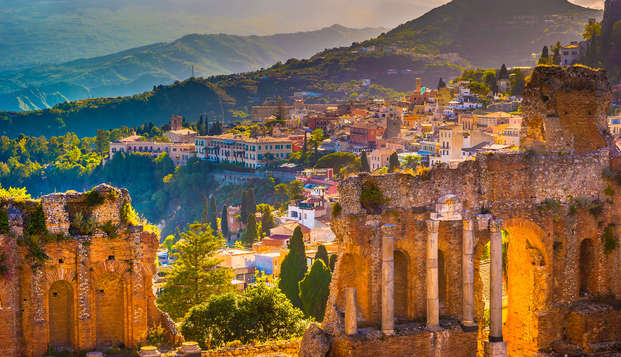 Relajante estancia en Taormina con spa y descuentos en tratamientos