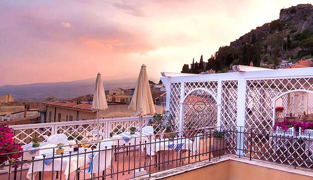 Descubre el corazón de Taormina en un pequeño hotel con encanto