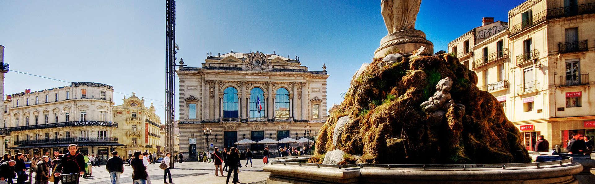 Alegría de vivir en Montpellier