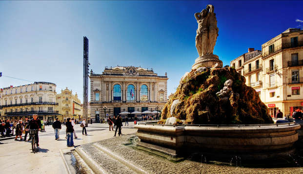 Douceur de vivre méditerranéenne à Montpellier