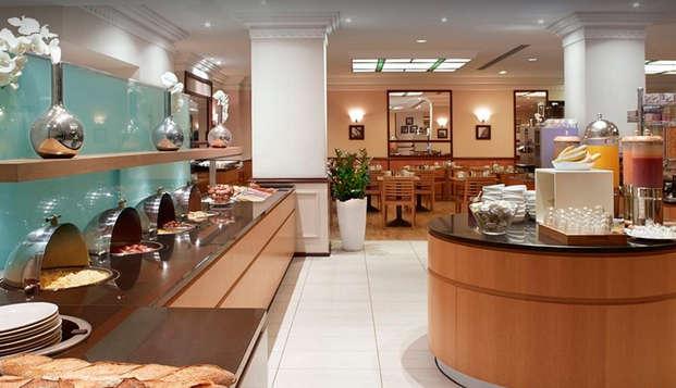 Hilton Brussels City - buffet