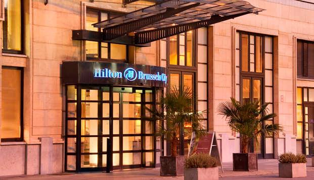 Hilton Brussels City - front