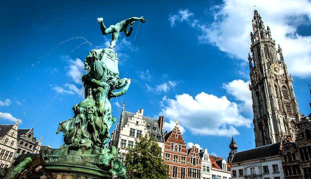 Overnachting in hartje Antwerpen