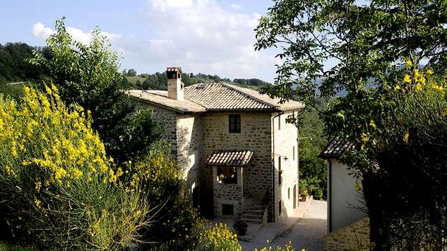Weekend con vista panoramica sulle colline la Rocca di Assisi