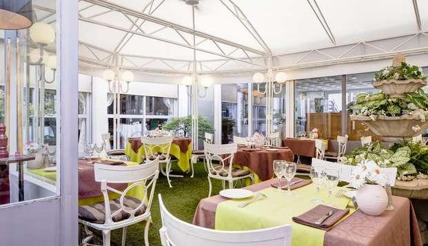 Hotel Axotel Perrache - Terrasse Restaurant