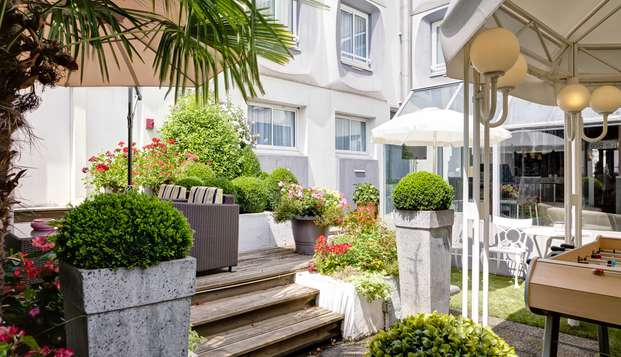 Hotel Axotel Perrache - Terrasse Bar