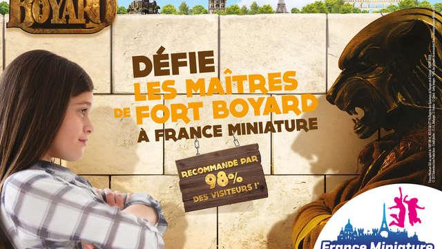 1 Entrée au Parc France Miniature pour 2 adultes