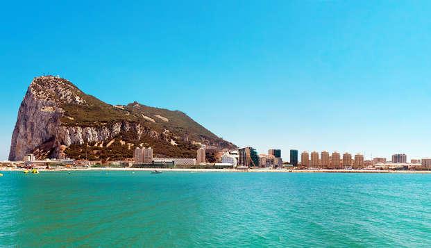 Week-end au bord de la mer avec vue sur la baie de Gibraltar