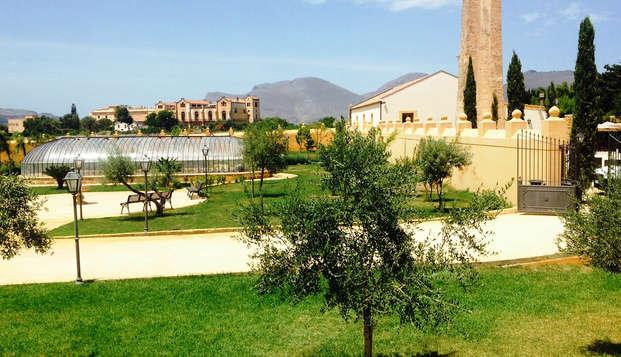 Elegante villa settecentesca tra il cuore di Palermo e la spiaggia di Mondello