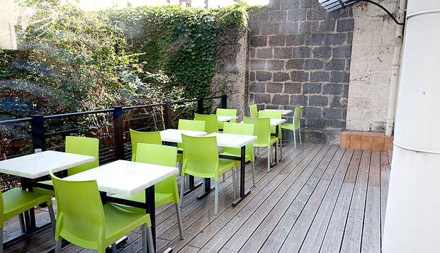 Hotel Albert Elisabeth Gare SNCF - Terrace