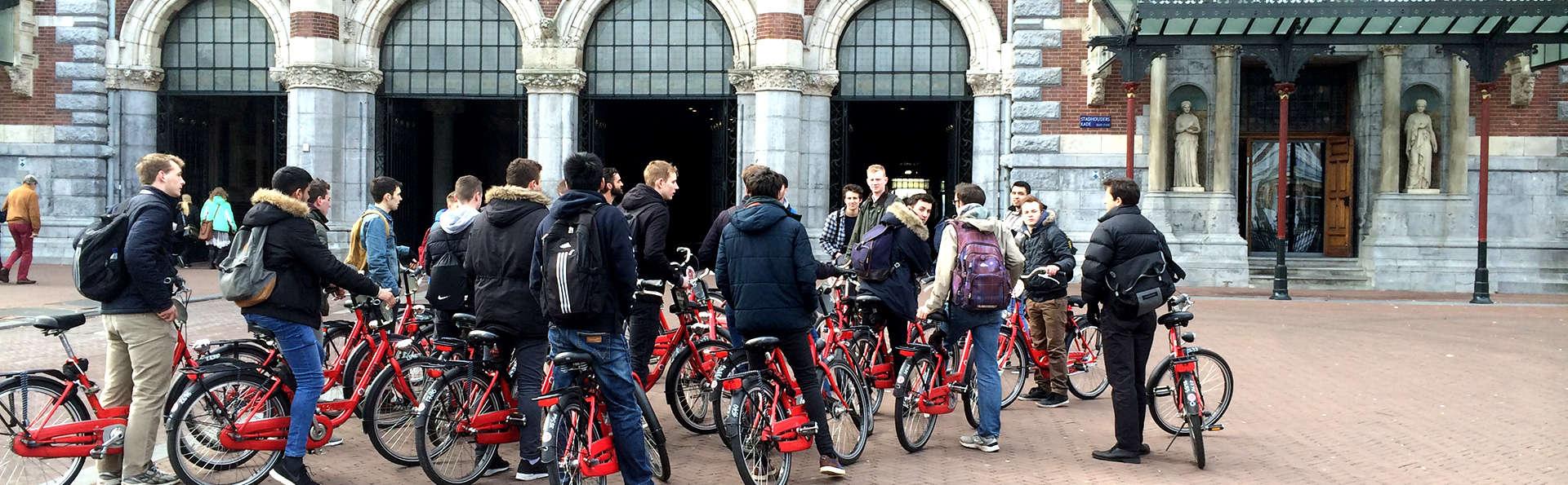 Descubre Ámsterdam en bicicleta con un guía local