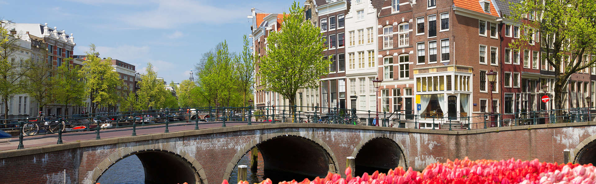 Descubre el centro de Ámsterdam en bicicleta