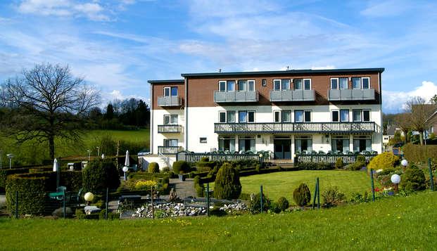 Weekendje weg in gezellig familiehotel midden in de natuur vlakbij Valkenburg (vanaf 2 nachten)