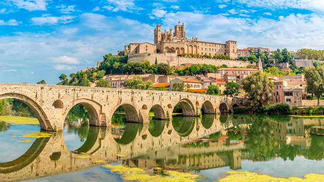 Romanticismo y pétalos de rosa en Béziers