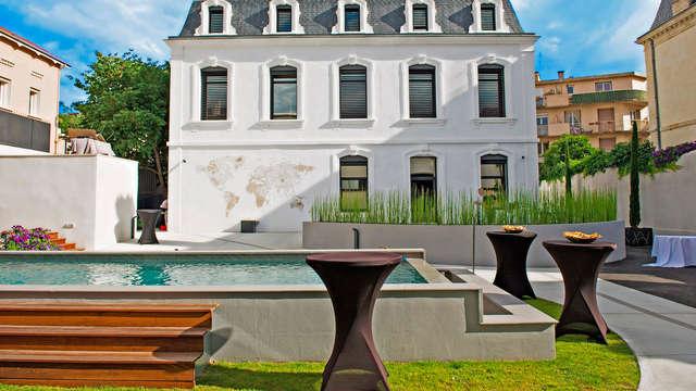 Pause détente et romantique dans un magnifique boutique hôtel au cœur de l'Hérault