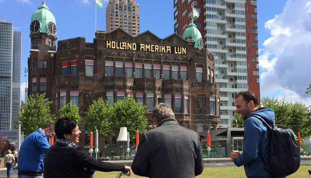 Découvrez le centre-ville de Rotterdam à vélo