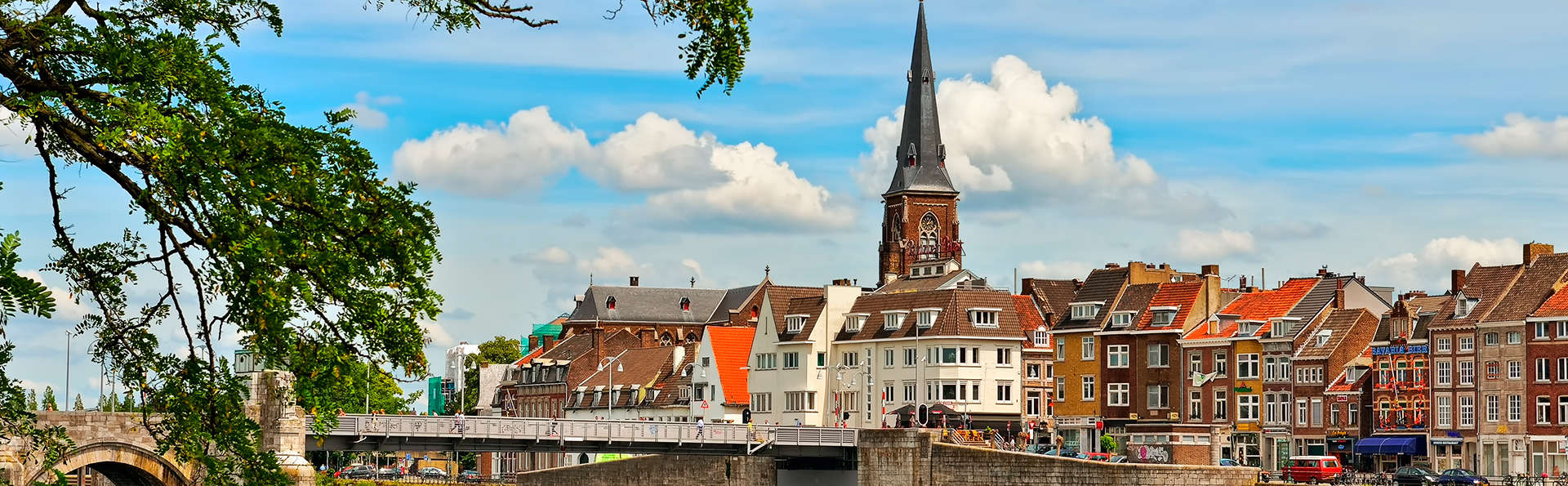Escapade citadine en famille à Maastricht (1 enfant inclus)