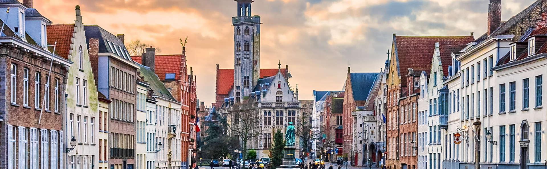 Découvrez la belle ville historique de Bruges