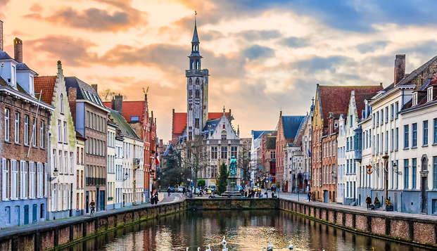 Descubre la histórica ciudad de Brujas