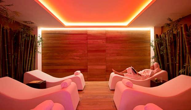 Romantiek in een 4* deluxekamer met toegang tot spa aan de rand van Verona
