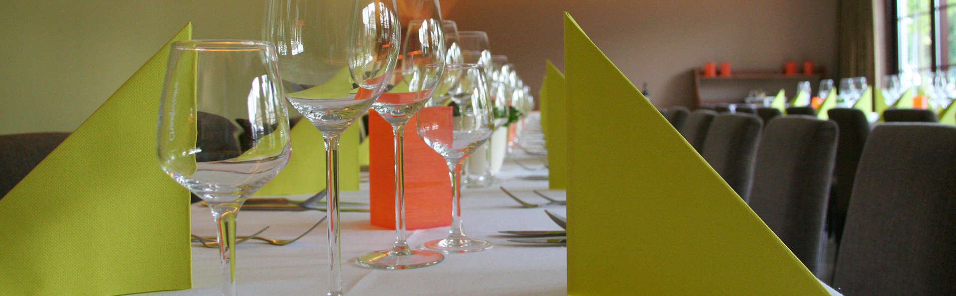 Cena en un restaurante gastronómico en Houthalen