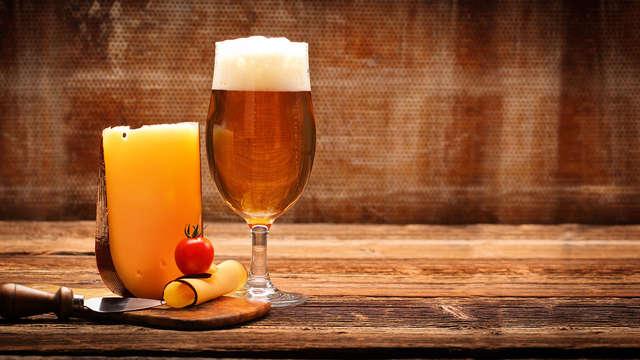 Romanticismo en Bruselas: copa de vino espumoso, chocolate belga y spa (a partir de 2 noches)