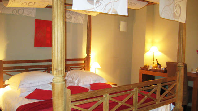 Charme weekend in een deluxe kamer in Gent
